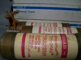 TRS225R Shawmut 225 Amp Fuse Lot of 3 - $170.17
