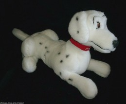 "19"" VINTAGE DISNEY 101 DALMATIANS DOG STUFFED ANIMAL PLUSH TOY RED COLLA... - $37.40"
