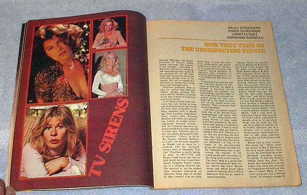 TV Radio Mirror Magazine October 1975, Dickinson Struthers