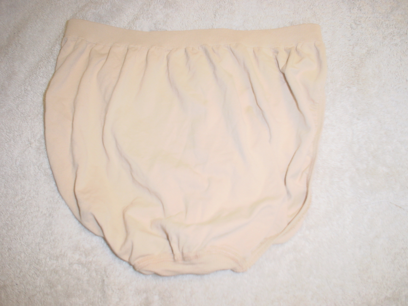 Jockey Seamfree Panty 8/XLarge Nude SP-Slightly Imperfect Lot of 3