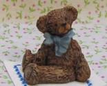 9 bonnie franklin bear darkerbrn blubow 1 arm front gemjanes dollhouse miniatures 1 thumb155 crop