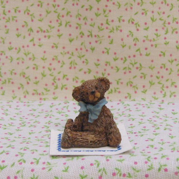 Dollhouse Miniature Toy Teddy Bear 1:12 NEW Bonnie Franklin & Friends #9