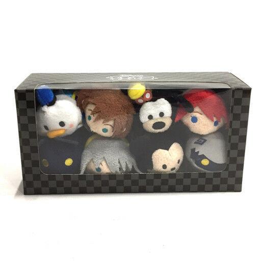 Near Mint Disney D23 Expo Japan 2018 TSUM Kingdom Hearts Box Set 8 doll Limited