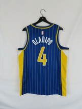 NWT Men's Victor Oladipo Indiana Pacers Nike Swingman Jersey (Large)City Edition - $98.99