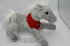 "Wells Fargo Legendary Pony Shamrock Gray Horse 14"" Plush Stuffed Animal ... - $16.73"