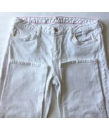 Kate Spade Perry Street Women Jeans White Denim 31 Slim Fit - $59.84
