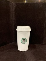 "Starbucks Barista 2000 Ceramic Coffee Canister 8 1/2"" To Go Cup Mermaid ... - $27.29"