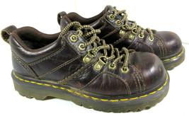 Dr. Martens Leather Finnegan Boat Hiking Shoes Size 5 US Women's 4 Men's 36 EU - $19.75