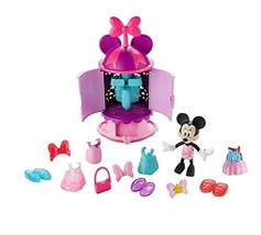 Disney Junior Minnie's Fab Fashion Turnstyler Closet Snap 'n Pose With ... - $62.99