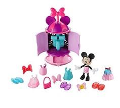 Disney Junior Minnie's Fab Fashion Turnstyler Closet Snap 'n Pose With 11 Fashi - $62.99