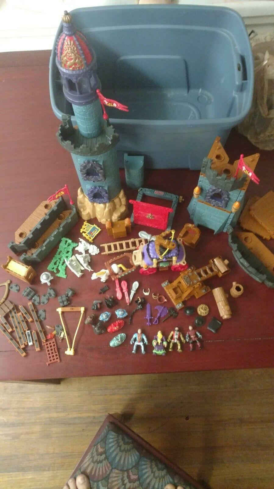 Imaginext Medieval Battle Castle Parts and accessories