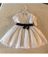 Carter's Little Collection Dress, Size 18M, NWT, White - $27.99