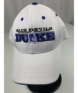 Duke Blue Devils NCAA Strapback Adjustable Embroidered White Baseball Ca... - $17.41