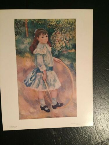 Primary image for Renoir Print - Girl with Hula Hoop- Repro Unframed