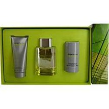 Kenneth Cole Reaction Cologne 3.4 Oz Eau De Toilette Spray 3 Pcs Gift Set image 1