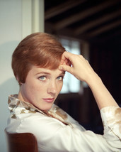 Julie Andrews Stunning Short Hair 1960's 16x20 Canvas Giclee - $69.99