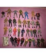 "HUGE GI Joe Chap Mei Peacekeeper Valor Venom DTC Lanard 3.75"" 30+ Figure... - $75.00"