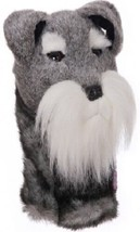 Schnauzer Daphne Head Cover-  460CC friendly Driver or Fairway Club - $22.72