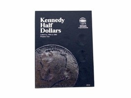 Kennedy Half Dollars # 1, 1964-1985 Coin Folder by Whitman - $5.99