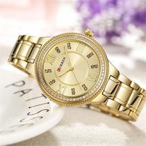 CASSANDRA Women's Classic Gold-Tone Watch | 550752 | by Curren - $25.99