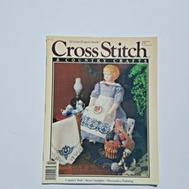 Cross Stitch & Country Crafts Magazine January February 1991  - $3.95
