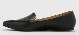 Women's Micah Pointed Toe Closed Loafers - A New Day Black 8 image 2
