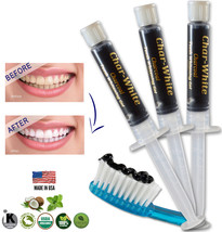 Activated Charcoal Gel for Natural Teeth Whitening - Fresh Teeth Whitener - USA - $12.45