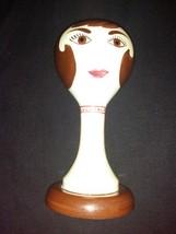 "Vintage Stangl Pottery Ceramic Mannequin Head Hat Wig Stand 15"" - $329.99"
