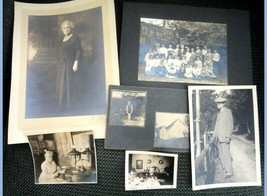 LOT antique PHOTOS MARSHALL SMITH+IDA MYLIERAINE-maid - $42.50