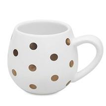 Funny Polka Dot Coffee Mugs Ceramic Milk Cup, 12oz Large White Cute Tea ... - $17.84