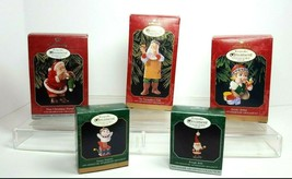Hallmark Keepsake Ornaments 1998-1999 Collector's Club Vintage Lot of 5 - $19.79