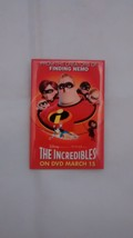 The Incredibles Pin (On DVD March 15) Movie Poster  Free Shipping - $9.89