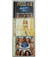 Lot of 3 Preowned American Idol Contestant CDs Season 2 Carrie Underwood - $12.86
