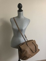NWT AUTH Bottega Veneta Intrecciato Large Accordion Tote Bag Cross Body ... - $2,692.19
