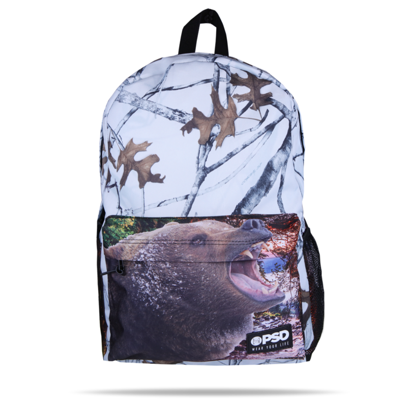 3f4b1df3e0a9c PSD Bear Camouflage Leaves Trees Forest Urban School Book Bag Backpack  21810003