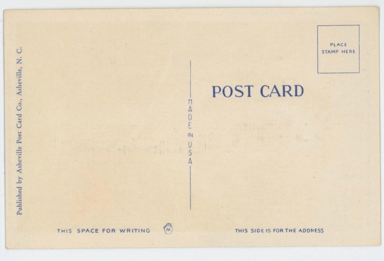Cherokee Indian vintage postcard hunter Native American linen