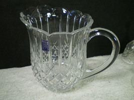 GODINGER 24% LEAD CRYSTAL PITCHER / JUG~~CZECHOSLOVAKIA~~nice gift idea - $19.99