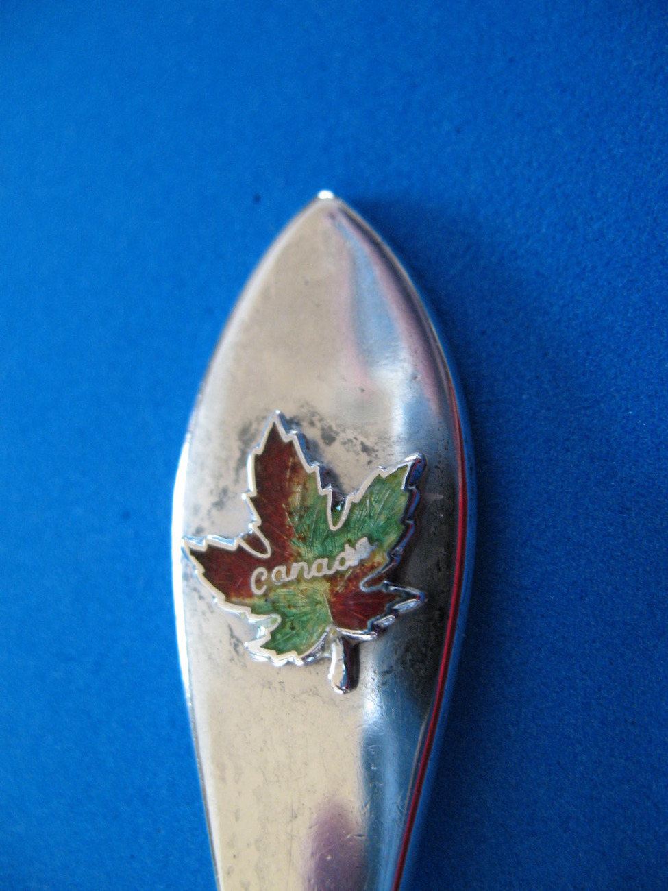 Primary image for Ottawa Sterling Silver Souvenir Collector Spoon Vintage Canada Maple Leaf Heavy