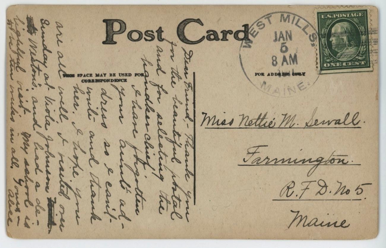 Dog Prince Kenyon 07 1907 Artist Signed vintage Postcard