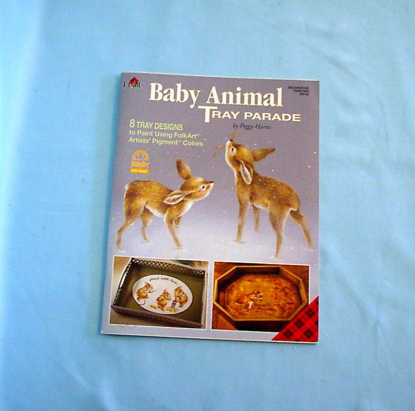 Baby Animal Tray Parade by Peggy Harris