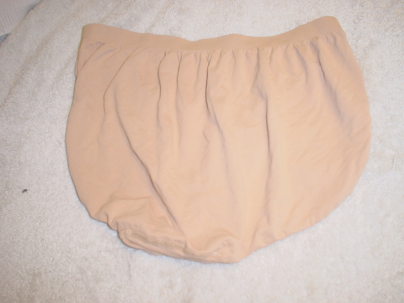 Jockey Seamfree Panty 8/XLarge Dark Nude SP-Slightly Imperfect NWOT
