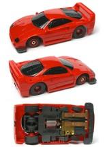 1992 Tyco Tcr Wide Pan Ferrari Street Red F-40 F40 Slot Less Car Unused Sharp! - $16.82
