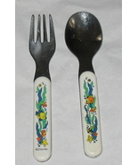 Disney Heat Sensitive Baby Spoon & Fork - $3.99