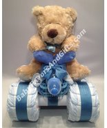 4 Wheeler Diaper Cake in many  colors - great gift for Baby Shower - $75.00