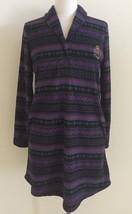 Lauren Ralph Lauren Shawl Collar Fleece Lounger Sleepshirt 8131138 XS M L - $32.00