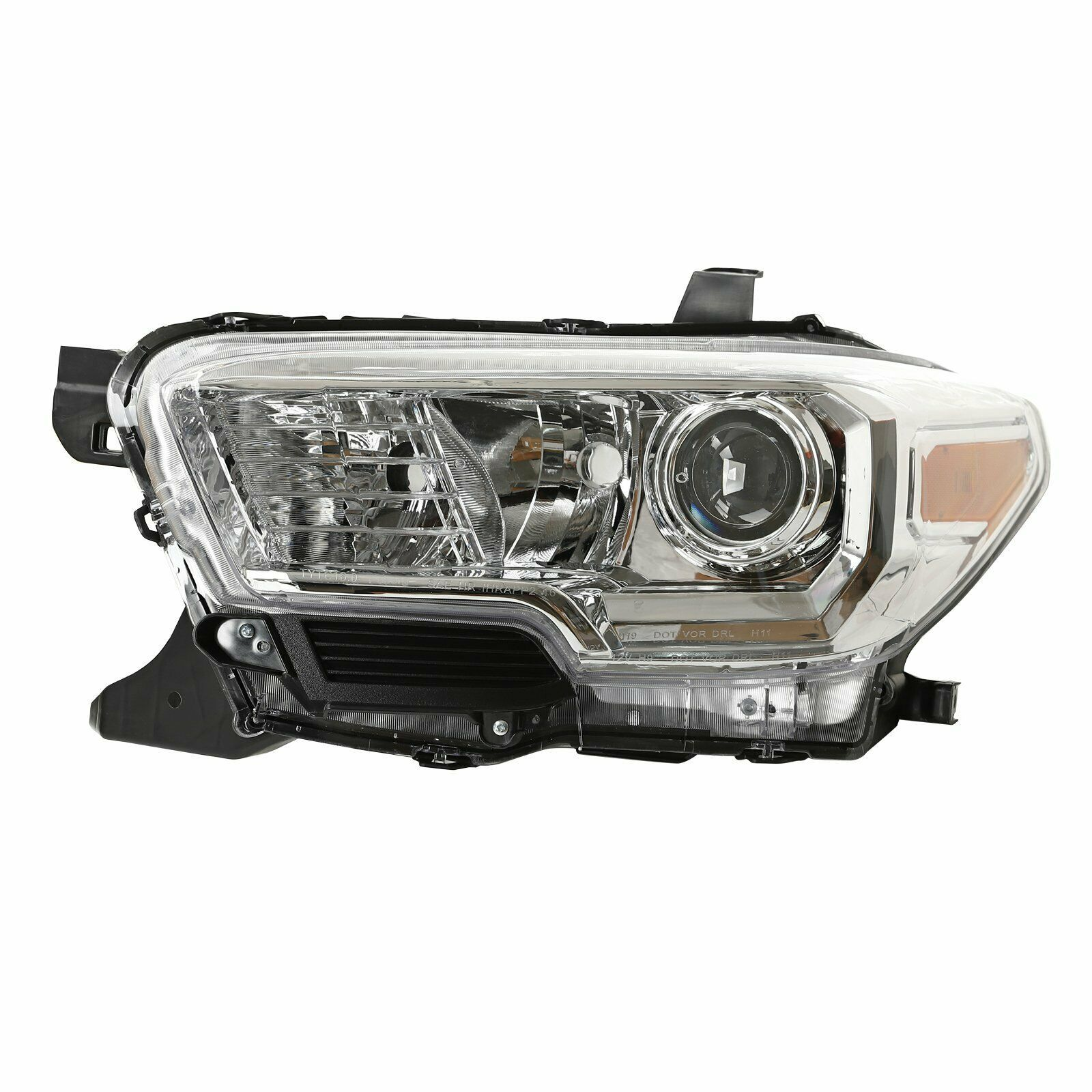 Halogen Headlight Headlamp Left Side For 2016-2020 Toyota Tacoma SR/SR5 w/o DRL - $127.11