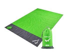 Outdoor Beach Blanket/Compact Pocket Waterproof & sand proof Mat for Cam... - $22.23