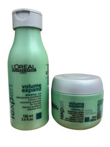 L'Oreal Volume Expand Travel Shampoo 3.4 OZ & Masque 2.56 OZ set - $12.99