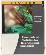 Essentials of Statistics for Business and Economics by David R. Anderson... - $10.84
