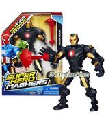 Year 2013 Marvel Super Hero Mashers 6 Inch Figure - IRON MAN with Repuls... - $39.99